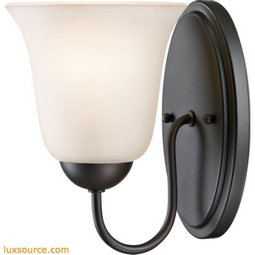 Conway 1 Light Bath Bar In Oil Rubbed Bronze 1251WS/10