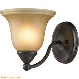 Shelburne 1 Light Bathbar In Oil Rubbed Bronze 5501BB/10
