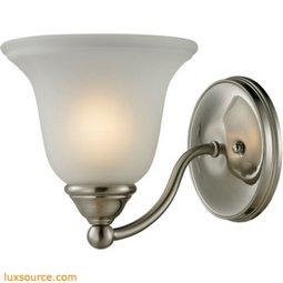 Shelburne 1 Light Bathbar In Brushed Nickel 5501BB/20