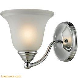 Shelburne 1 Light Bathbar In Chrome 5501BB/30