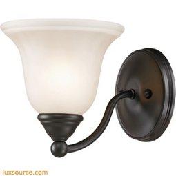 Shelburne 1 Light Bathbar In Oil Rubbed Bronze 5551BB/10