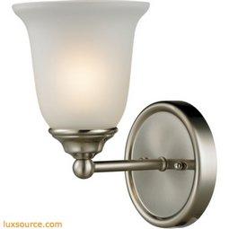 Sudbury 1 Light Bathbar In Brushed Nickel 5601BB/20