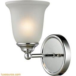 Sudbury 1 Light Bathbar In Chrome 5601BB/30