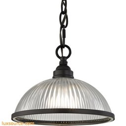Liberty Park 1 Light Pendant In Oil Rubbed Bronze 7661PS/10