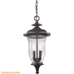 Trinity Pendant Lantern In Oil Rubbed Bronze