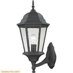 Temple Hill Coach Lantern In Matte Textured Black