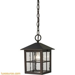 Shaker Heights Pendant Lantern In Hazelnut Bronze