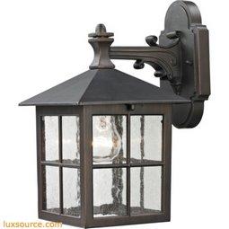 Shaker Heights Coach Lantern In Hazelnut Bronze