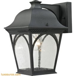Cape Ann 1 Light Outdoor Coach Lantern In Matte Textured Black 8301EW/65
