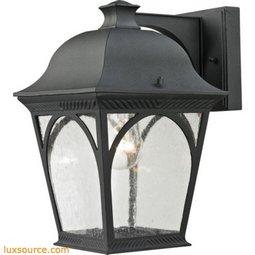Cape Ann 1 Light Outdoor Coach Lantern In Matte Textured Black 8301EW/65