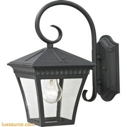 Ridgewood Coach Lantern In Matte Textured Black