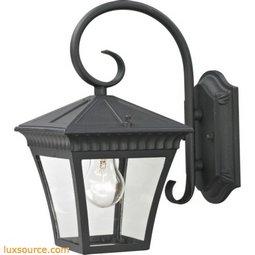 Ridgewood Coach Lantern In Matte Textured Black