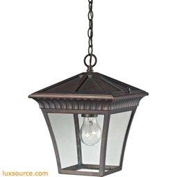Ridgewood Pendant Lantern In Hazelnut Bronze