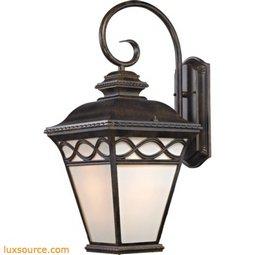 Mendham 1 Light Coach Lantern In Hazelnut Bronze