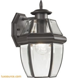 Ashford 1 Light Exterior Coach Lantern In Oil Rubbed Bronze