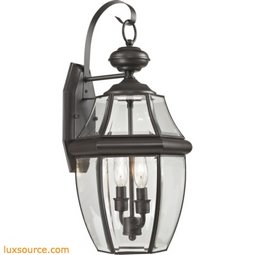 Ashford 2 Light Exterior Coach Lantern In Oil Rubbed Bronze