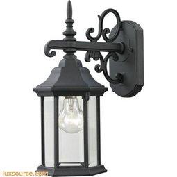 Spring Lake 1 Light Exterior Coach Lantern In Matte Textured Black