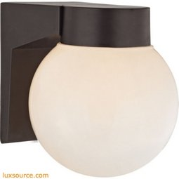1 Light Outdoor Wall Sconce In Oil Rubbed Bronze 9201EW/75