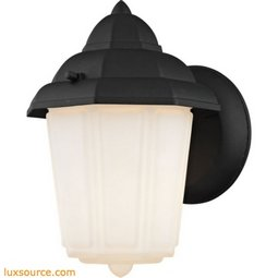 1 Light Outdoor Wall Sconce In Matt Black 9211EW/65