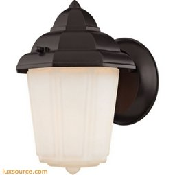 1 Light Outdoor Wall Sconce In Oil Rubbed Bronze 9211EW/75
