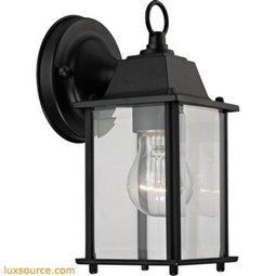 1 Light Outdoor Wall Sconce In Matte Black 9231EW/65