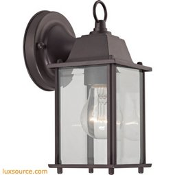 1 Light Outdoor Wall Sconce In Oil Rubbed Bronze 9231EW/75