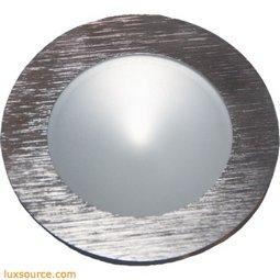 Ursa Collection 1 Light Disc Light In Brushed Aluminum