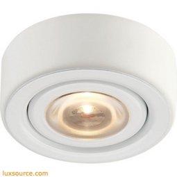 Alpha Collection 1 Light Recessed LED Disc Light In Black A732DL/60