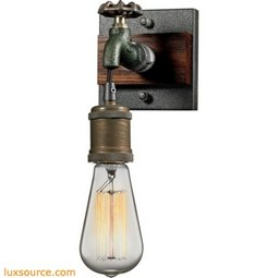 Jonas 1 Light Wall Sconce In Weathered Multitone 14280/1