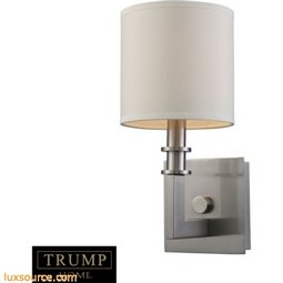 Seven Springs 1 Light Wall Sconce In Satin Nickel 20150/1