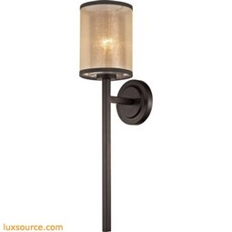Diffusion 1 Light Wall Sconce In Oil Rubbed Bronze 57023/1
