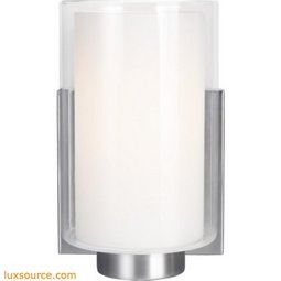 Bergin Light Wall Sconce - 1 - Light - Opal