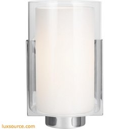 Bergin Light Wall Sconce - 1 - Light - White