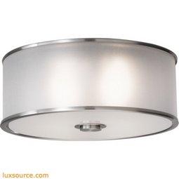 Casual Luxury Light Indoor Flush Mount - 2 - Light