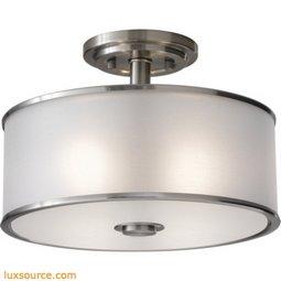 Casual Luxury Light Indoor Semi-Flush Mount - 2 - Light
