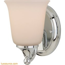 Claridge Light Vanity Fixture - 1- Light