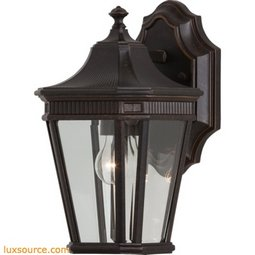 Cotswold Lane Light Wall Lantern - 1 - Light