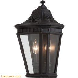 Cotswold Lane Light Wall Lantern - 2 - Light - Clear