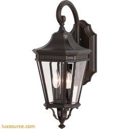 Cotswold Lane Light Wall Lantern - 2- Light
