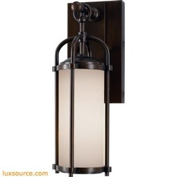 Dakota Light Wall Lantern - 1 - Light - White