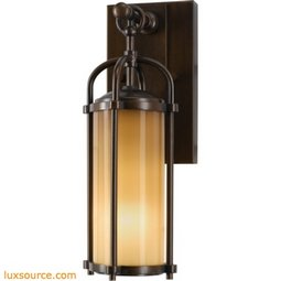 Dakota Light Wall Lantern - 1 - Light -Opal