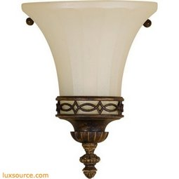 Drawing Room Light Sconce - 1 - Light - Amber