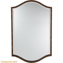 Drawing Room Walnut Mirror - Small - 1 - Light