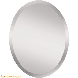 Infinity  Mirror - Oval - Mirror - Clear