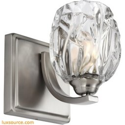 Kalli Light Wall Sconce - 1 - Light - Clear