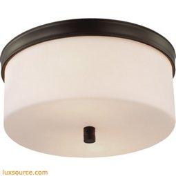 Lismore Light Flushmount - 2 - Light - Opal