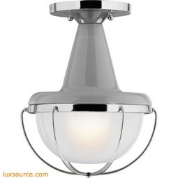 Livingston Outdoor Light Flushmount - 1 - Light