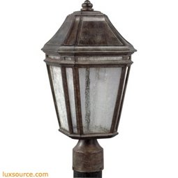 Londontowne Outdoor Post - 1 - Light - LED 2700K90 CRI
