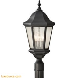 Martinsville Light Outdoor Lantern - 1- Light - Clear