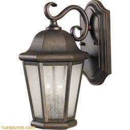 Martinsville Light Wall Lantern - 2 - Light